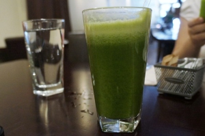 Cafe Blossom NYC UWS - Field of Greens juice