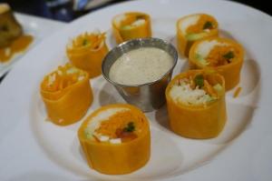 Cafe Blossom UWS NYC - Sweet potato rolls