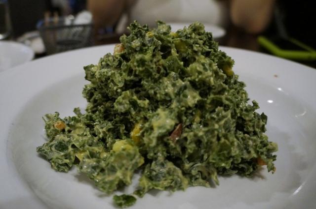 Cafe Blossom UWS NYC - Kale Salad