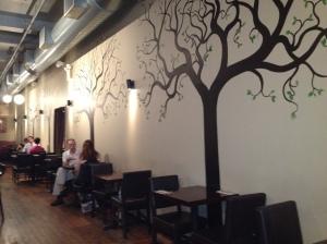Cafe Blossom UWS, NYC - Decor