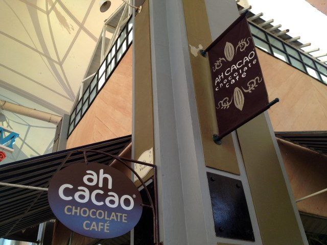 Ah Cacao Chocolate Cafe in Cancun, Mexico