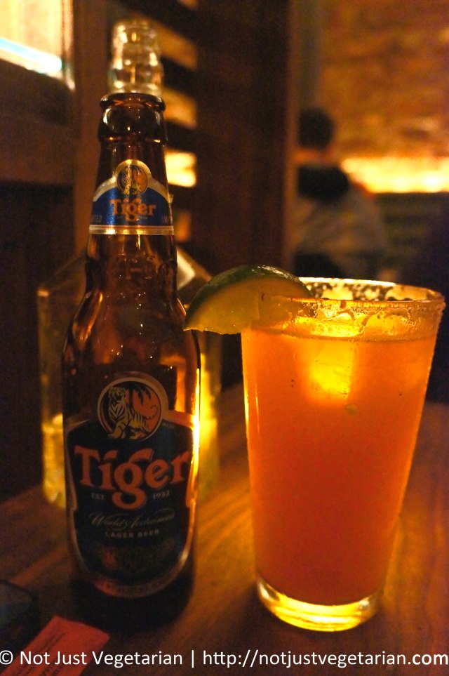 Tiger Beer Michelada at Fatty 'Cue in the West Village in NYC