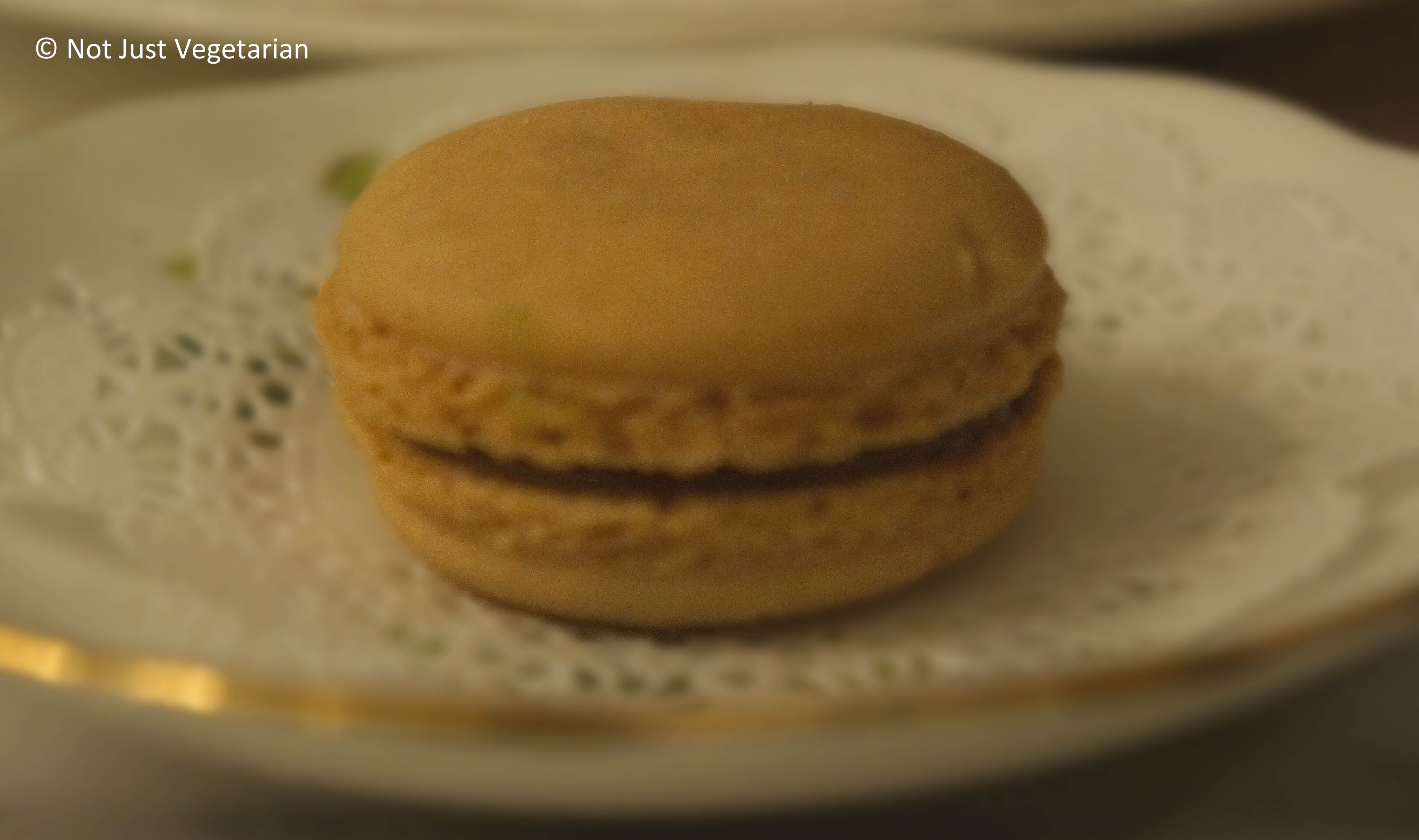 Dulce De Leche Macarons Recipe — Dishmaps