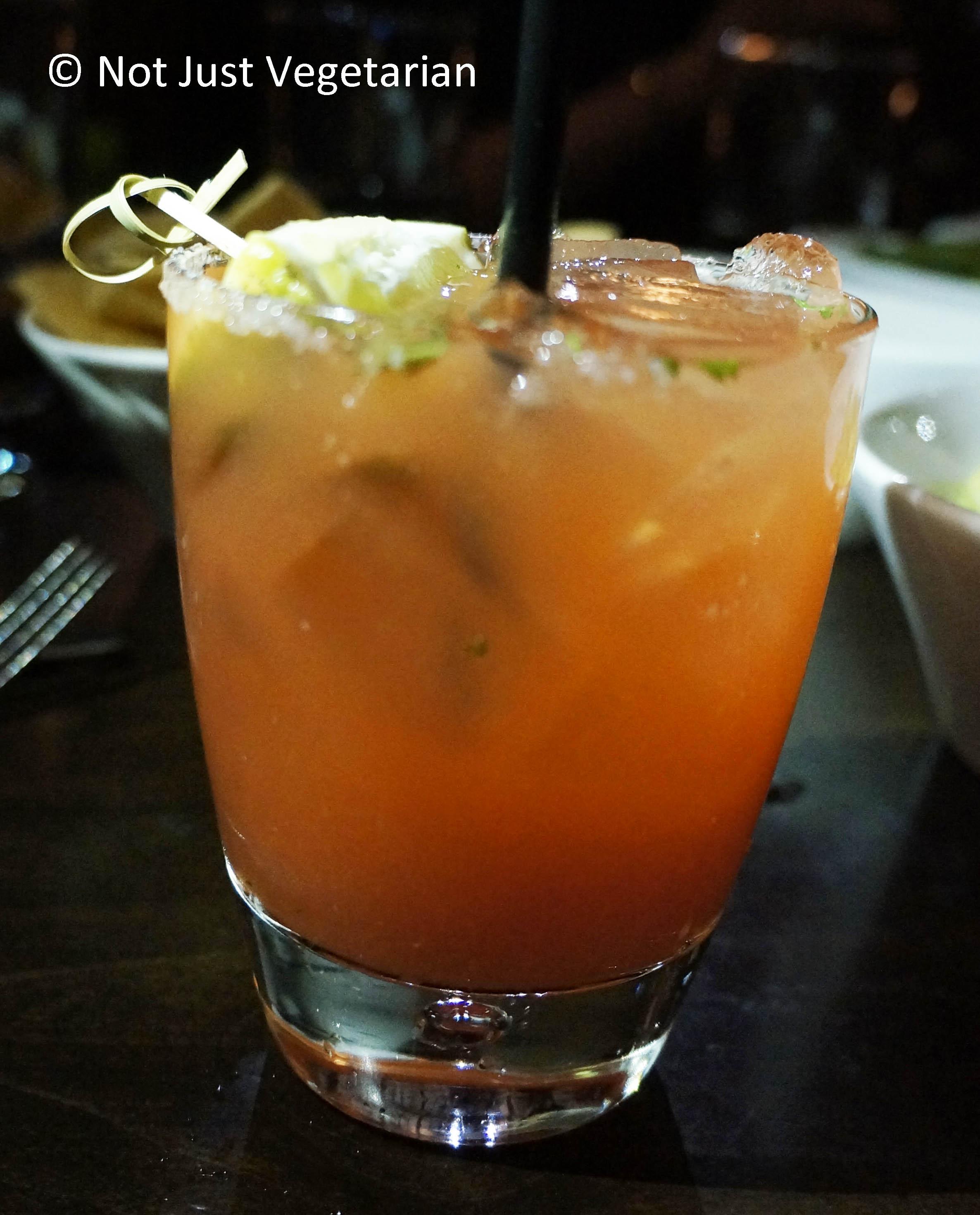 The best Mango sorbet in NYC at Zengo | Not Just Vegetarian