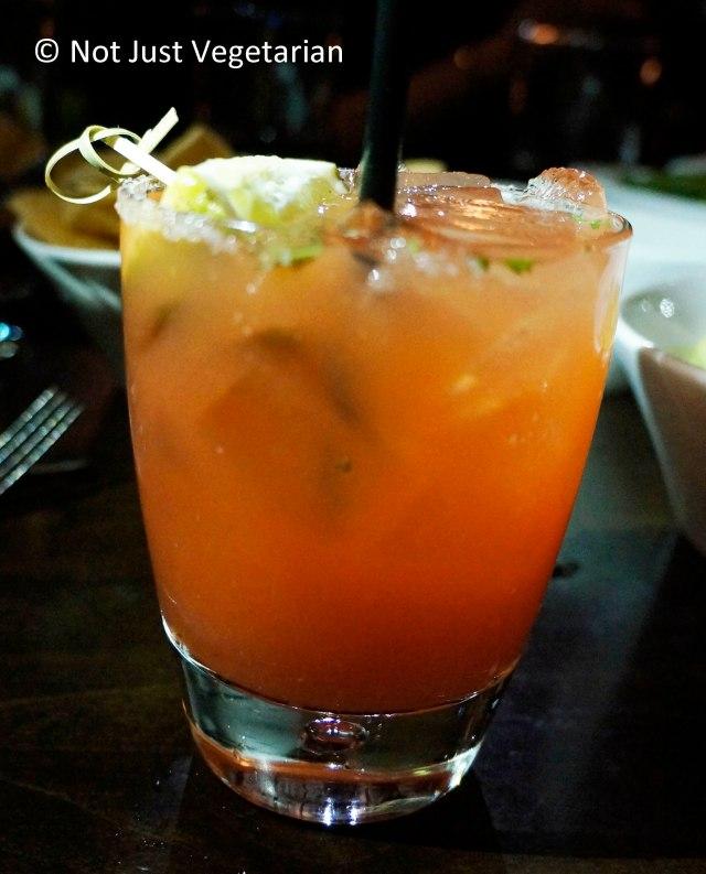 Zengo Margarita - a spicy tequila cocktail at Zengo NYC