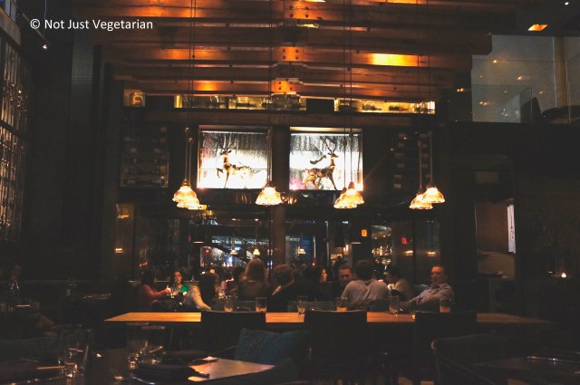 Inside Zengo - a restaurant serving Latin & Asian influenced food in NYC