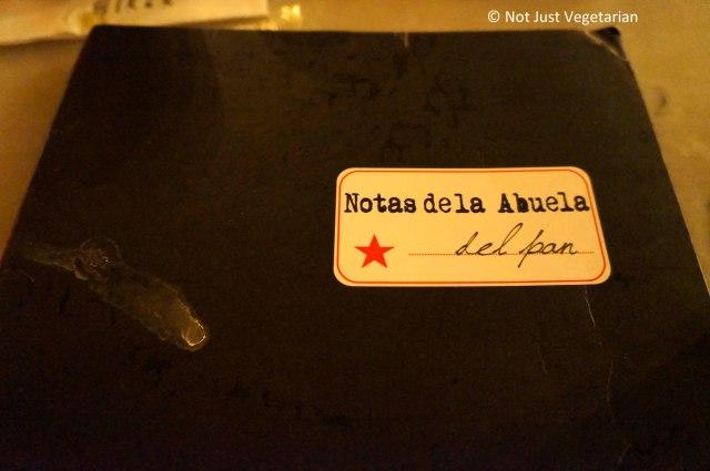 Oficina Latina NYC -a Pan American Bistro - Menu Card