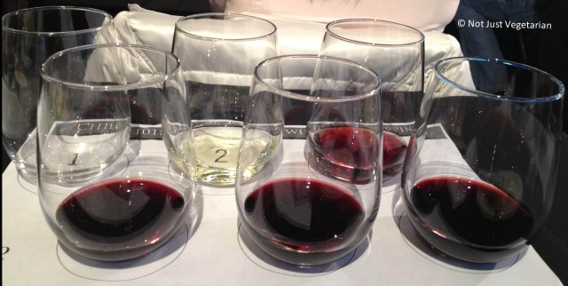 Chilean Wines for tasting in the Wine Basics class at Puro Wine NYC