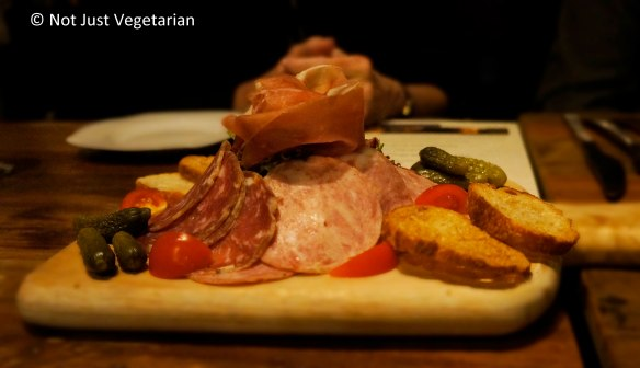 Charcuterie at Jeanne & Gaston NYC