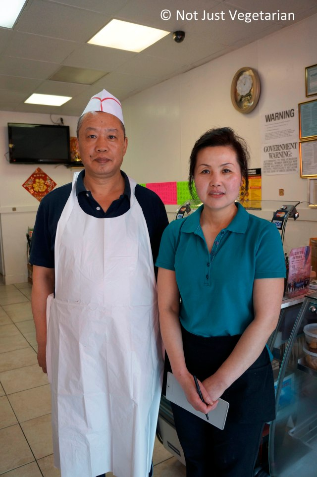 Chef-owners at Lao Dong Bei in Flushing,NY