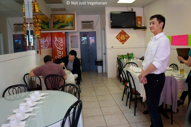 Inside Lao Dong Bei in Flushing, NY