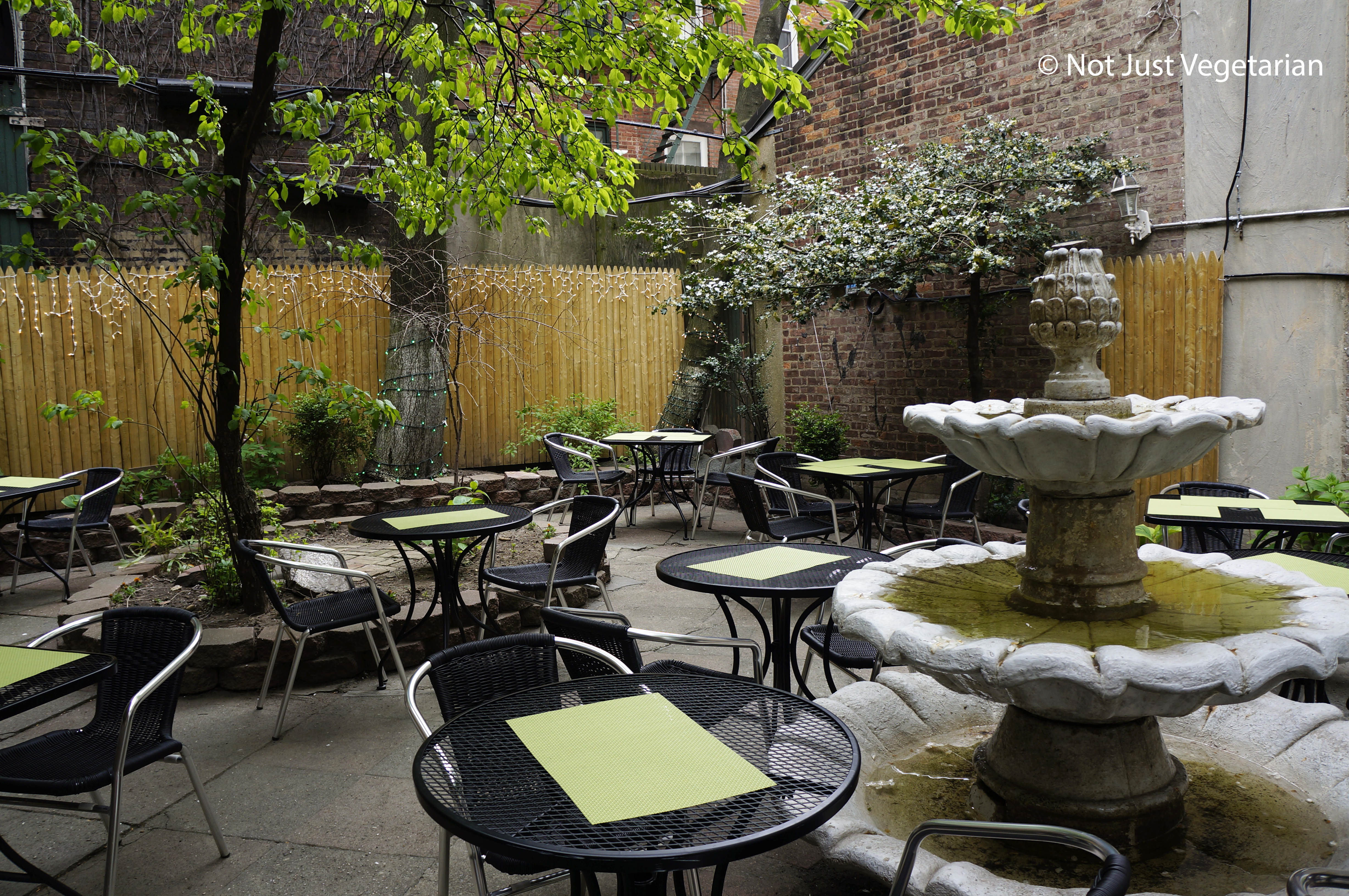 Garden Of Jeanne And Gaston NYC
