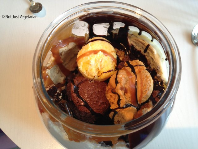 A peek inside Volcano in a Fishbowl at Sugar and Plumm NYC