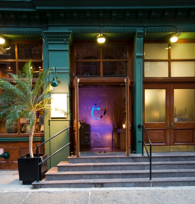 Thalassa NYC - entrance