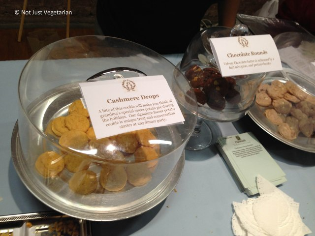 Vegan sweet potato cookies from Pipernilli at The Seed 2013 in NYC