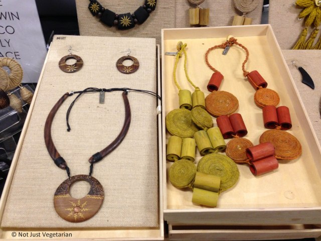 Jewelry (jute) from Haute Latitude at The Seed 2013 in NYC