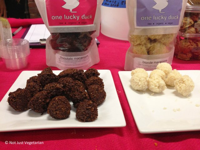 Macaroons from One Lucky Duck at The Seed 2013 in NYC