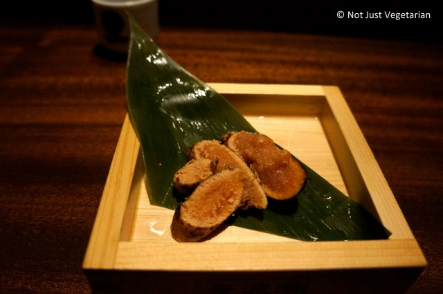 LIghtly roasted spicy marinated cod roe at Yopparai NYC