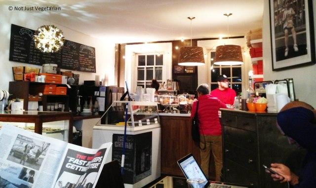 Inside Chocolate Bar NYC