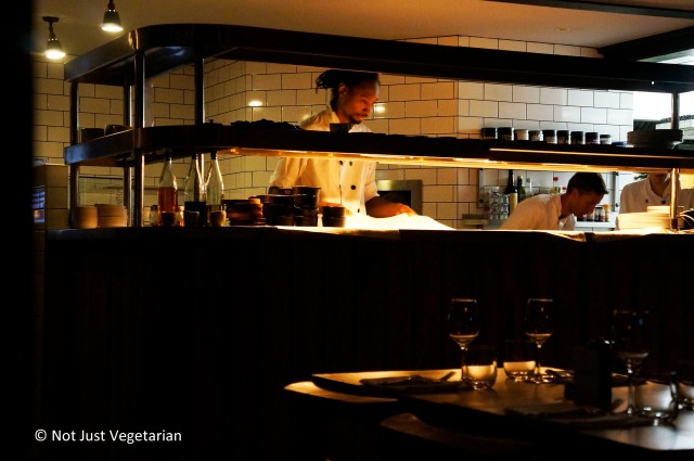 Wood-fired oven in Goat in Chelsea in London