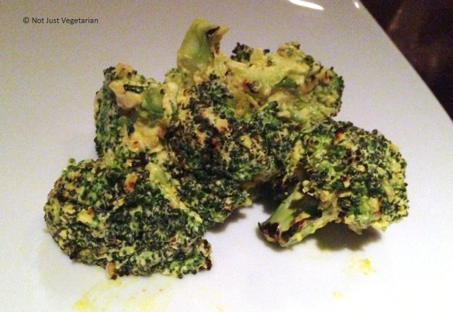 Chilli Cheese broccoli florets at Mint Leaf Restaurant & Bar, Haymarket, London