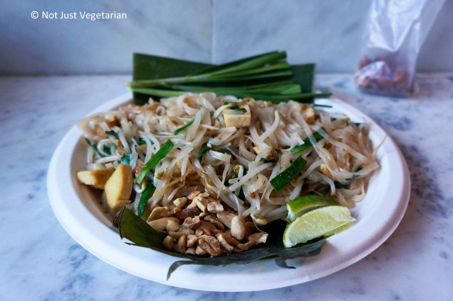 Phat Thai Jay (vegan) at Pok Pok Phat Thai in NYC