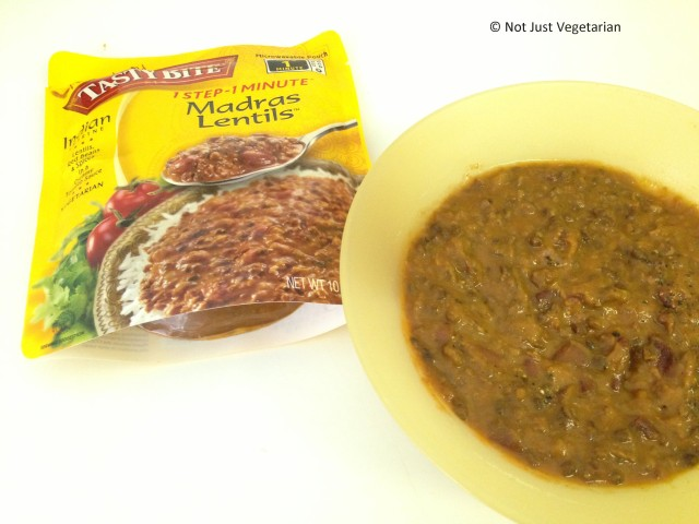 Madras Lentils - vegan, vegetarian, gluten-free, kosher - from Tasty Bite