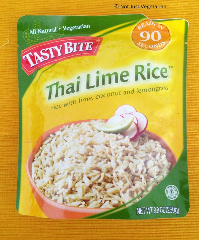 Thai Lime Rice - vegan, vegetarian, kosher - from Tasty Bite