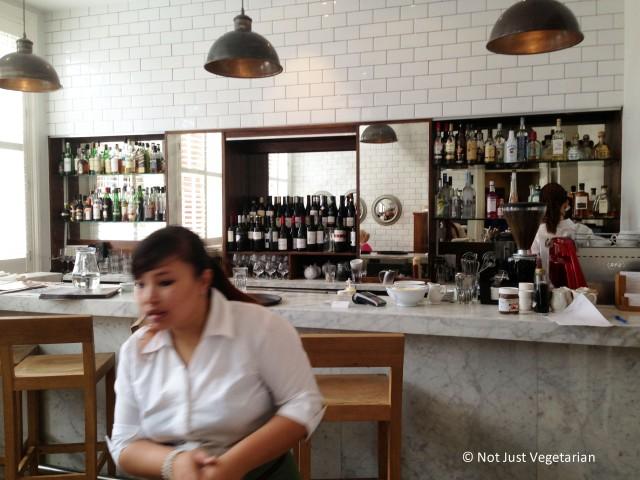 Inside Tom's Kitchen, Chelsea, London