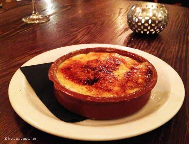 Crema Catalana - Burnt sugar Catalan custard at Casa Brindisa in London
