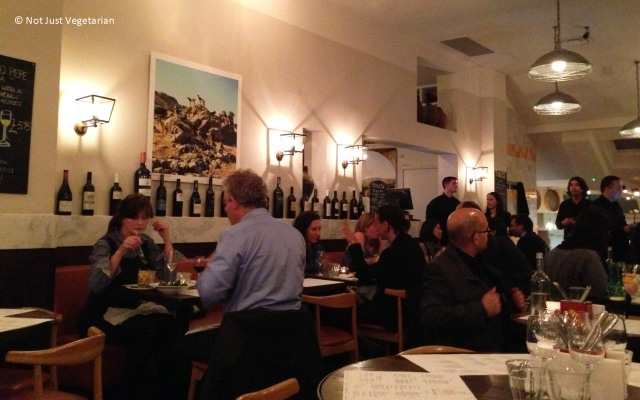 On a busy weekday evening in Casa Brindisa in London