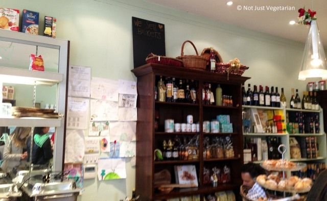 Inside La Bottega in South Kensington in London
