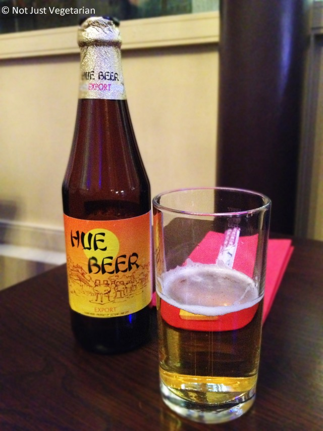 Vietnamese Beer (Hue Beer) at Com Viet in London