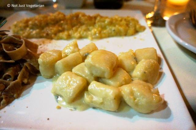 Gnocchi ai 4 formagi (gnocchi with 4 cheeses) at Giano NYC