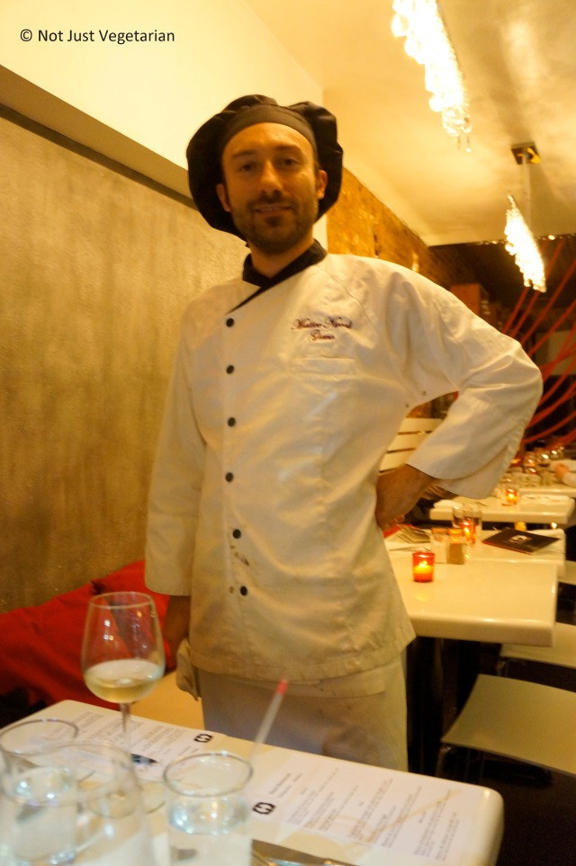 Co-owner, Executive Chef and Pastry Chef - Matteo Niccoli of Giano NYC