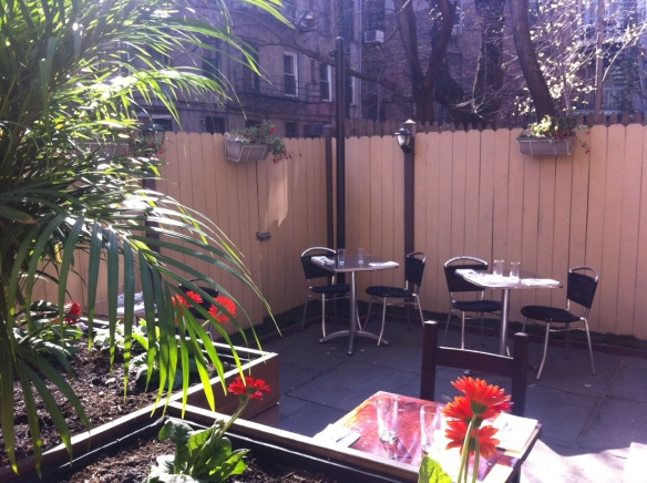 Seasonal Garden at Giano NYC, Photo courtesy Giano restaurant
