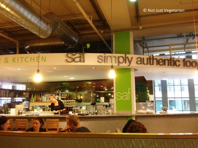 SAF in Whole Foods Market Kendington High Street in London