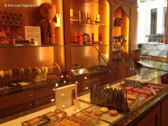 Inside La Maison du Chocolat in NYC