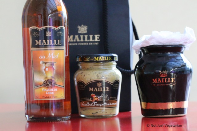 Maille Mustard and Vinegar
