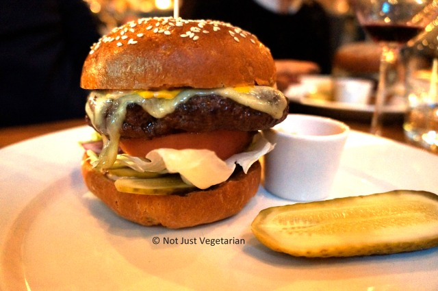 Burger at 28-50 Marylebone in London