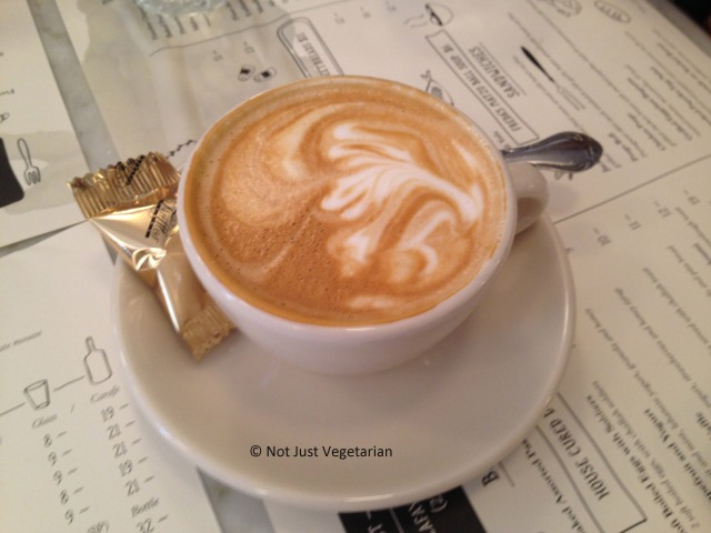 Capuccino at Jack's Wife Freda in SoHo, NYC