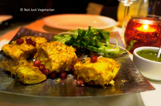 Cod tikka with pomegranate at Dalcha in London