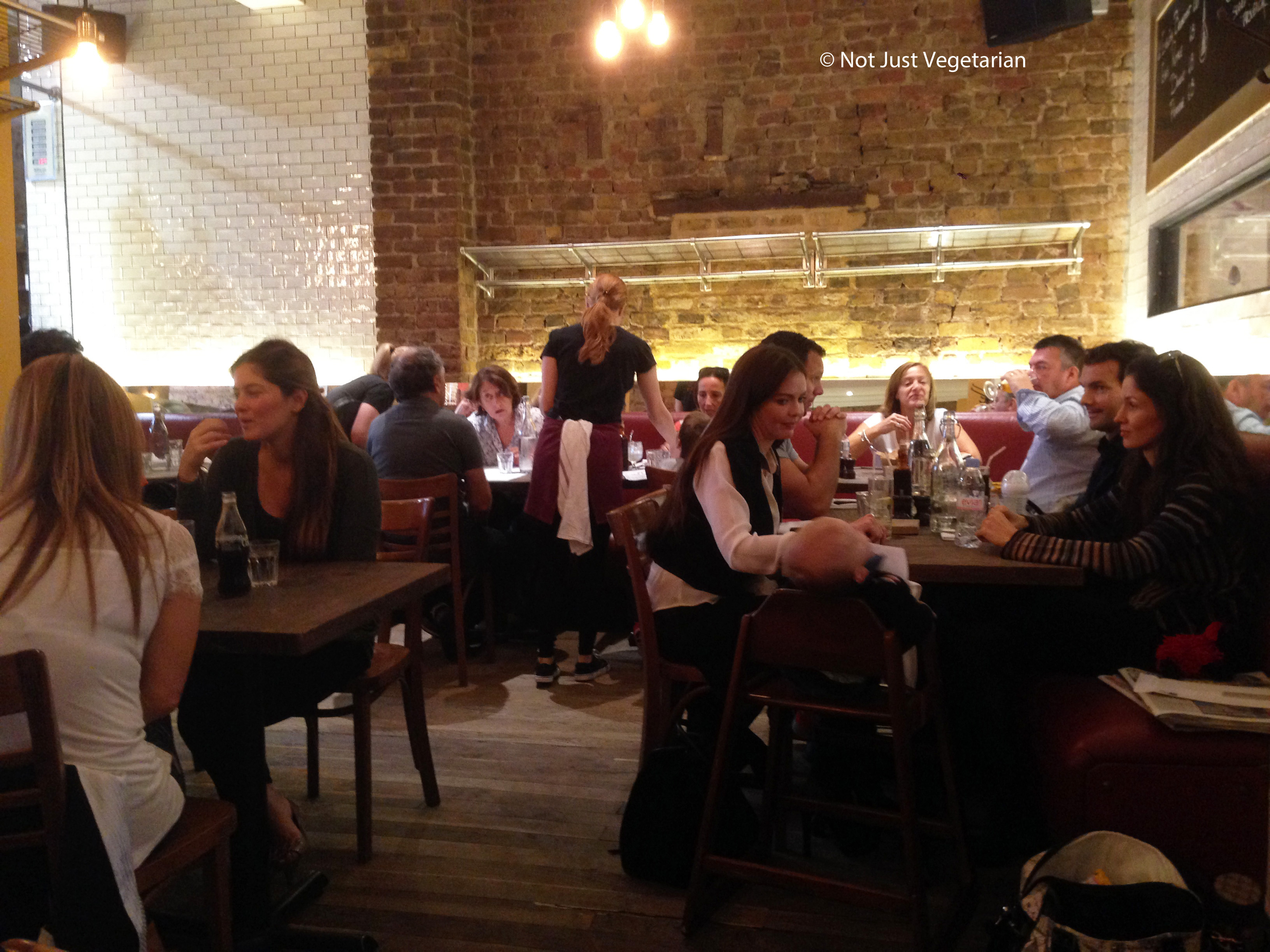 Sophie S Steakhouse In Chelsea London Not Just Vegetarian