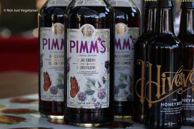 What is a summer evening in the park without Pimm's - at Taste of London 2014